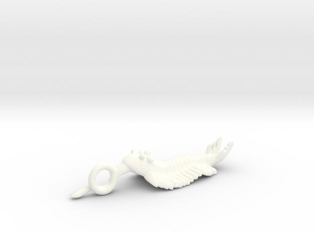 Opabinia Pendant 3d printed