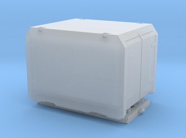 Überseebehälter Eükrt 11m³ DB mit Rollbock in Smooth Fine Detail Plastic