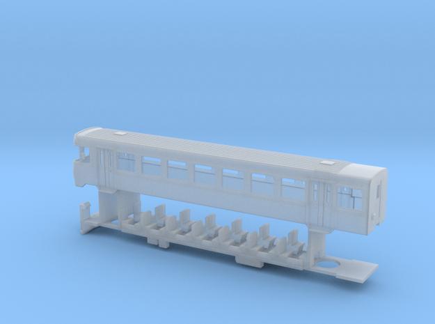 H0 YSC_Bt_51-52_komplett in Smooth Fine Detail Plastic: 1:160 - N