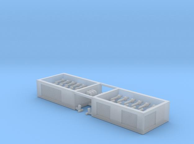 SPMT Hydraulikmodul 10Grad 2erSet - 1:120 TT in Smooth Fine Detail Plastic