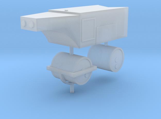Straßenwalze mit Persenning 1:160 N in Smooth Fine Detail Plastic