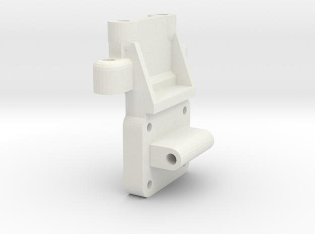 KYOSHO TRIUMPH REAR BULKHEAD in White Natural Versatile Plastic