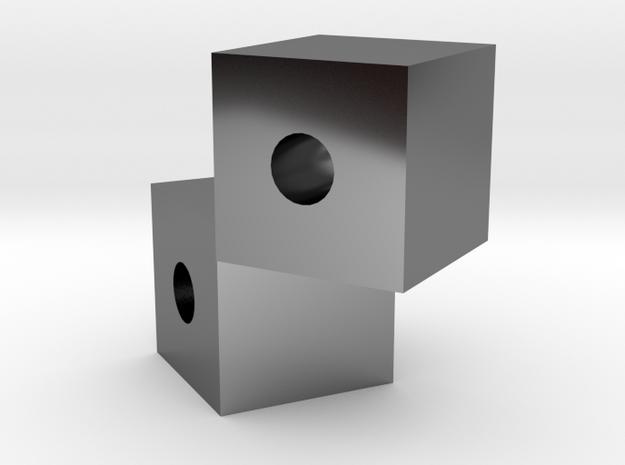 Cube Cubed in Premium Silver