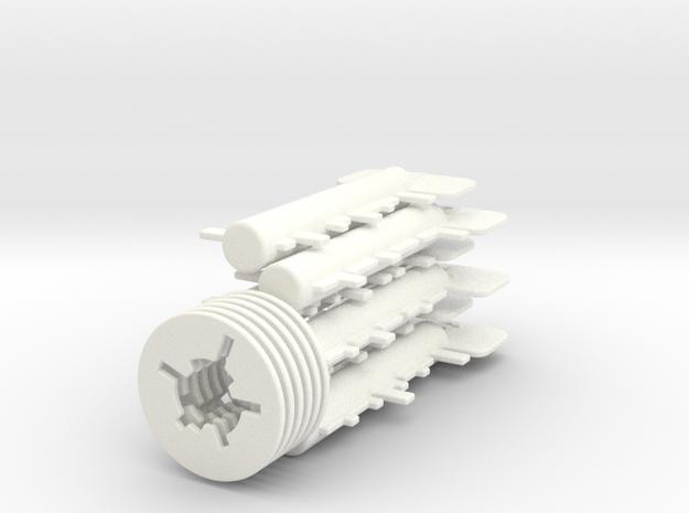 Key Maze set of six 3d printed