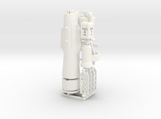 Missile for SV-51 in White Processed Versatile Plastic