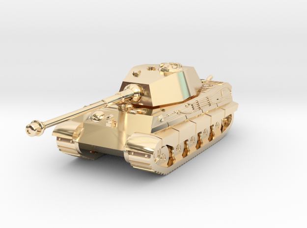 Tank - Tiger 2 - size Small in 14K Yellow Gold
