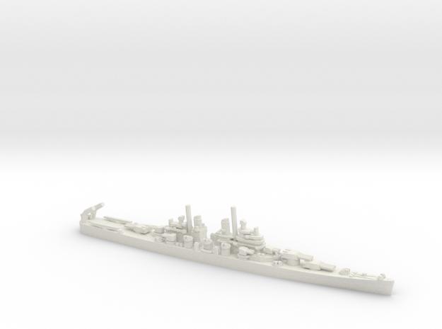 US Baltimore-Class Heavy Cruiser in White Natural Versatile Plastic: 1:1800