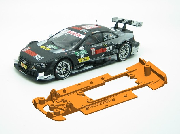 PSCA01201 Chassis Carrera Audi RS 5 DTM 2016 in White Natural Versatile Plastic