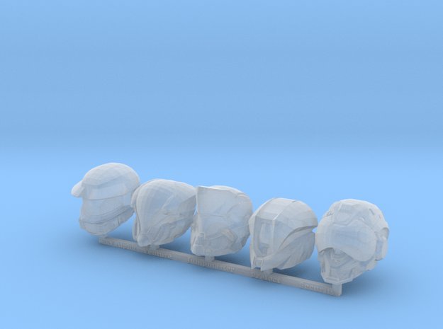 MB_MCX Halo 5 Helmets 5 in Smooth Fine Detail Plastic