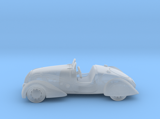 Peugeot 402 Convertible 1:160 N in Smooth Fine Detail Plastic