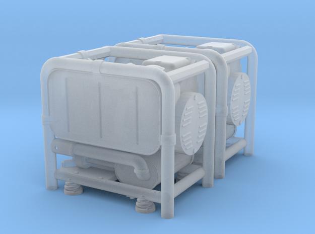 1:16 German WW2 GG-400 Generator Set in Smooth Fine Detail Plastic