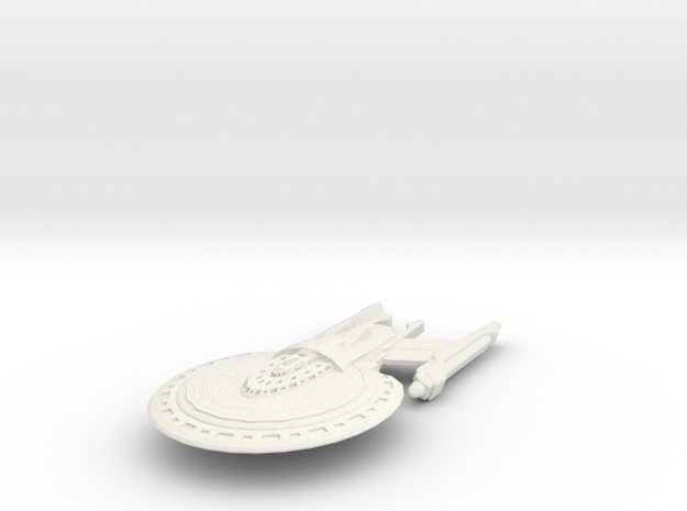 Griffin Class Cruiser in White Strong & Flexible
