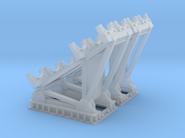 1/96 scale RGM-84 HARPOON Cradle in Smooth Fine Detail Plastic