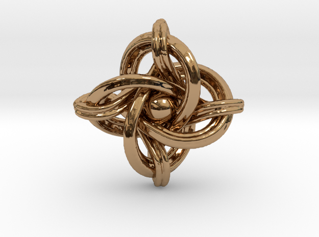 A small 23mm version of the infinity knot