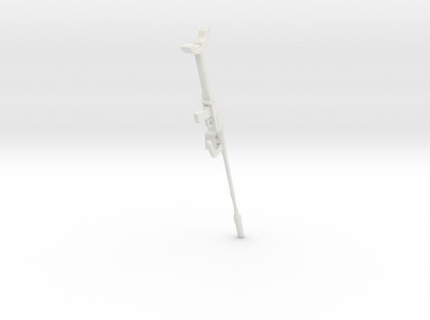 1:6 Miniature Granatbuschse 39 Without Bipod in White Natural Versatile Plastic