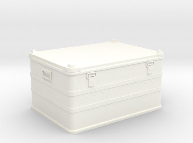 1:9 soldier box / zarges box big in White Processed Versatile Plastic