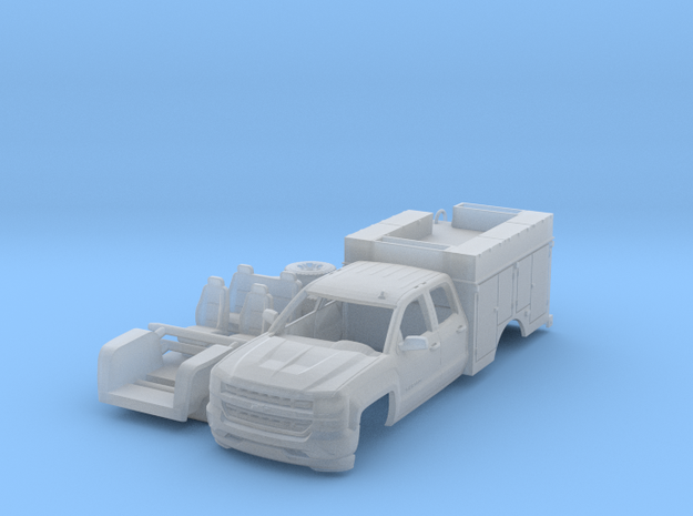 Chevy 4 Door Rescue Truck 1-87 HO Scale