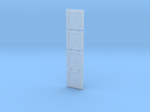 Baggermatte 2x2m 1:50 stapelbar, 4er Set in Smooth Fine Detail Plastic