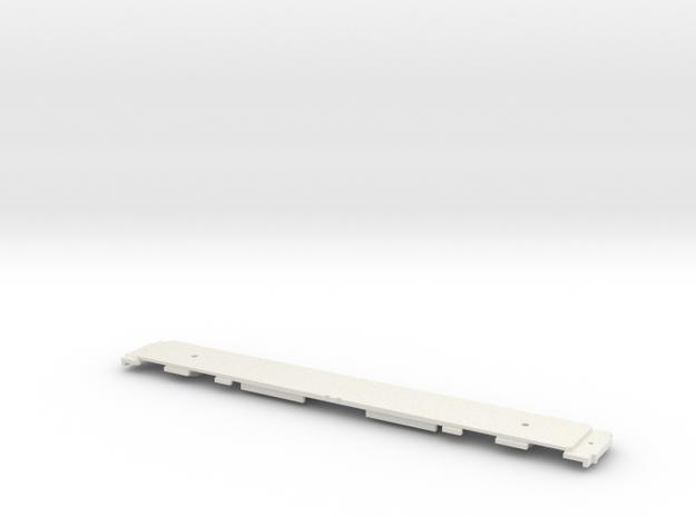 GCR Barnum Frame for N Gauge 2mm Scale in White Natural Versatile Plastic