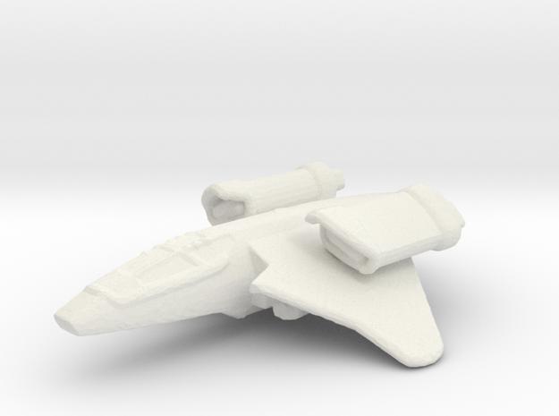 Trainer Basic Fighter in White Natural Versatile Plastic