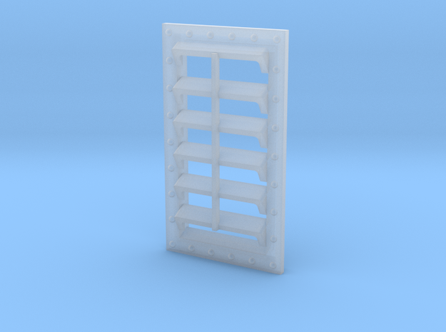 HO Scale  Seaboard Boxcar Vent in Smoothest Fine Detail Plastic