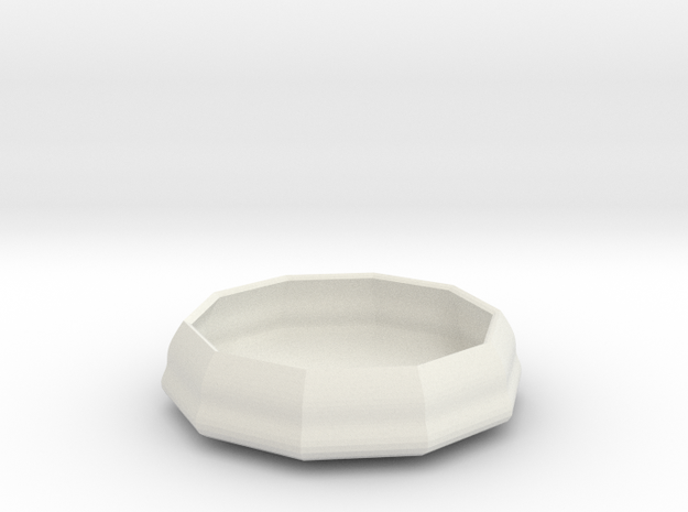 sauce bowl in White Strong & Flexible
