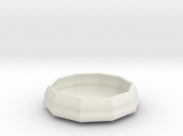 sauce bowl in White Natural Versatile Plastic