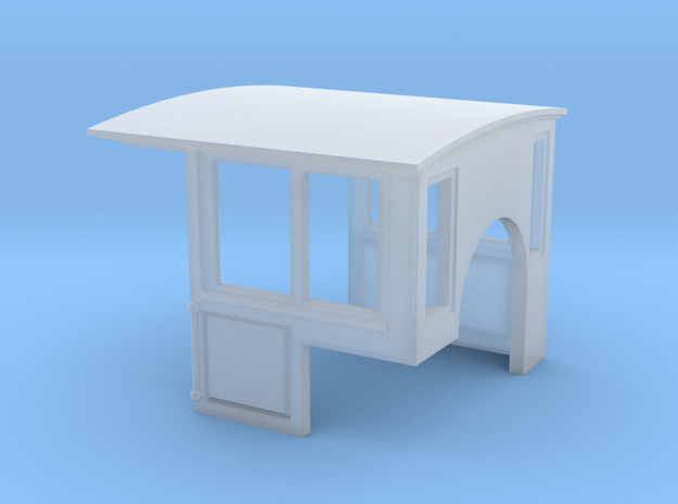 Paneled Cab for Coffee Creek Wagon Top Shay in Smooth Fine Detail Plastic