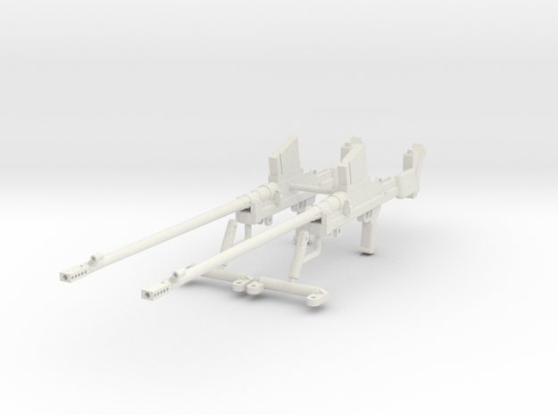 1:18 Boys Anti-Tank Rifle Mark I* - Set in White Natural Versatile Plastic