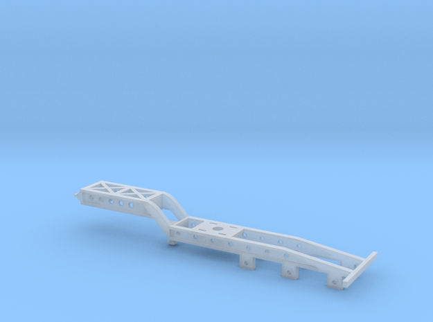 Jeep Dolly - 3 Axle in Smooth Fine Detail Plastic