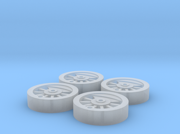 Dapol/Hornby Pugbash Wheel Inserts *BETA* in Smoothest Fine Detail Plastic