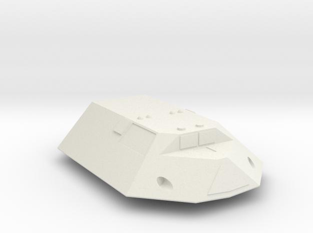 3788 Scale Jindarian Frigate (FF) SRZ in White Natural Versatile Plastic
