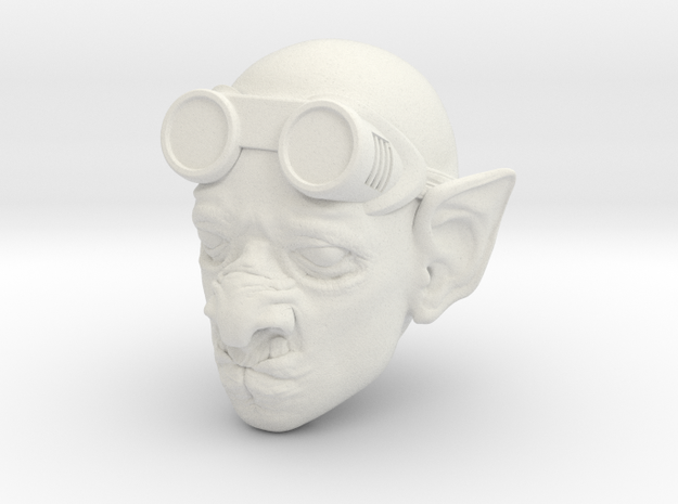 Tinker the half-breed smithy  in White Natural Versatile Plastic