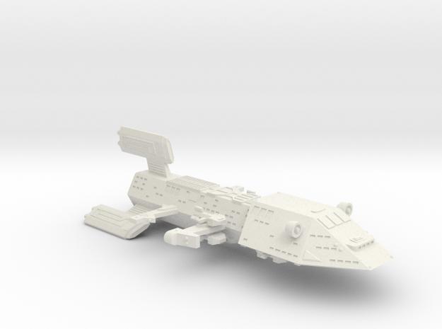 3788 Scale Kzinti Space Control Ship (SCS) SRZ in White Natural Versatile Plastic