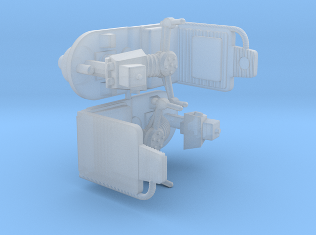 DEAGOSTINI MILLENNIUM FALCON GUNNER CHAIRS  x2 in Smooth Fine Detail Plastic