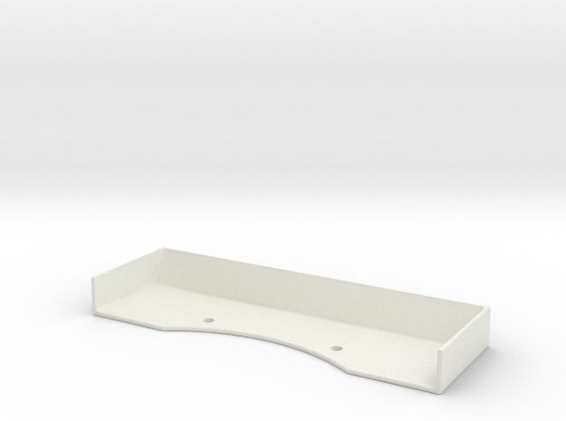 Mini-Z Spoiler v1-12C GT3 in White Natural Versatile Plastic