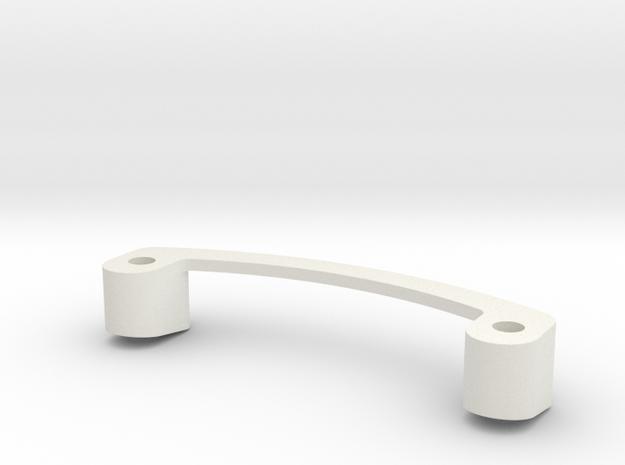 Mini-Z Spoiler Mount R8 LMS in White Natural Versatile Plastic
