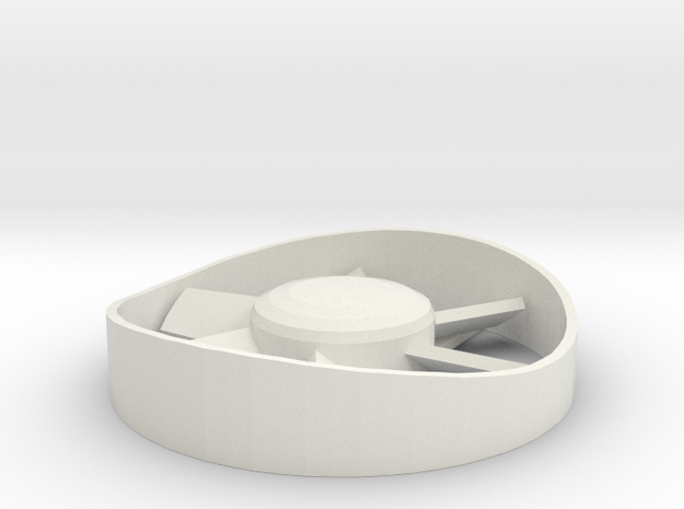 1:32 Class 25/3 roof fan in White Natural Versatile Plastic