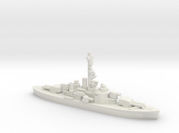 Finnish Coastal Defense Ship Ilmarinen in White Natural Versatile Plastic: 1:1800