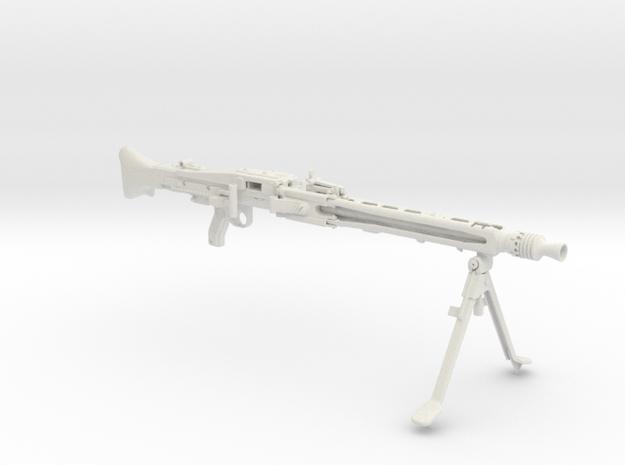 1/6 scale MG42 in White Natural Versatile Plastic