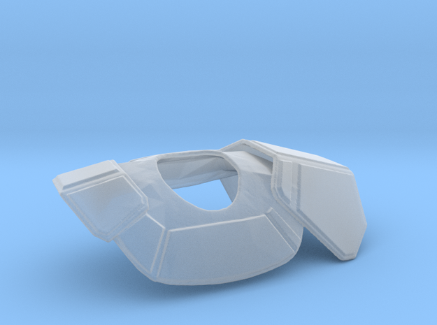 Clone Trooper Pauldron in Smooth Fine Detail Plastic