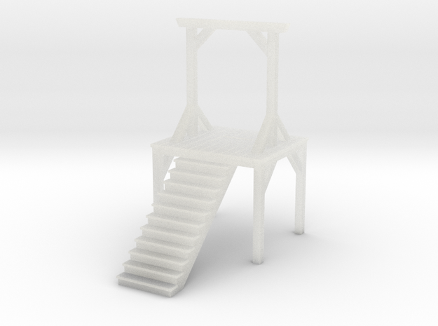 Gallows - Double Posted (N Scale) 3d printed