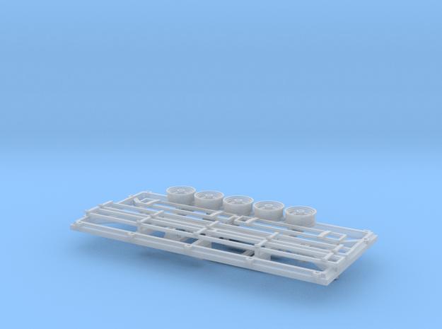 DAF aanhangwagen 1 in Smooth Fine Detail Plastic
