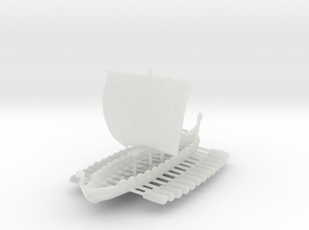 Viking Drakkar 3d printed
