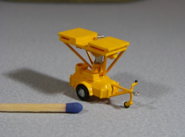 Fahrbares Hubgerüst - FH 1600 Fahrstellung - 1:120 in Smooth Fine Detail Plastic