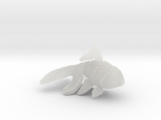 Wiggling Goldfish 3d printed