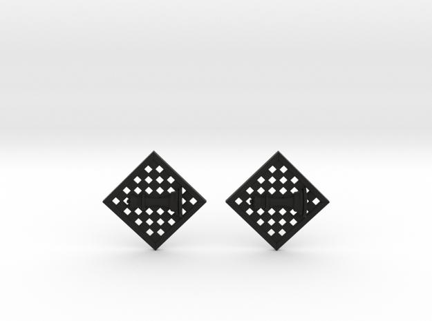 Chess Earrings - Queen 3d printed