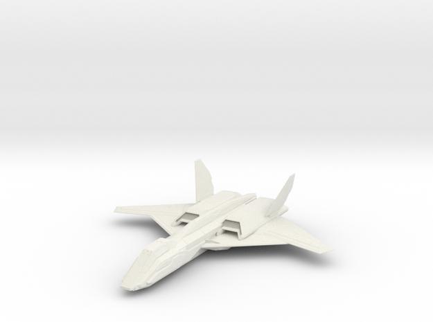 1/144 Skylark Aerospace Fighter in White Natural Versatile Plastic