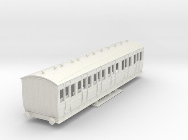 o-87-met-orig-ashbury-bogie-composite-coach in White Natural Versatile Plastic