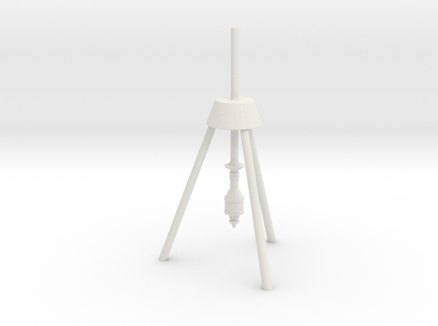 Lost in Space Equipment - Drill Rig in White Natural Versatile Plastic